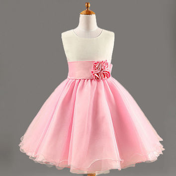 Kids Girls Baby Dress Products For Children = 4457633796