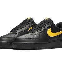 spbest Nike Air Force 1 Low LV8 Black & Yellow