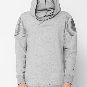 Unknown Vengeance Ninja Mask Hoodie In Gray