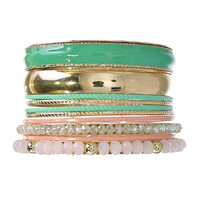 Pastel Dreamland Bangle Set