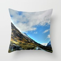 Road Throw Pillow by Haroulita   Society6
