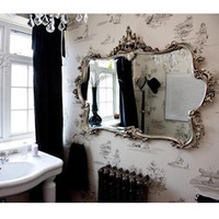Miss Lala's Silver Looking Glass|Mirrors|Mirrors  Screens|French Bedroom Company