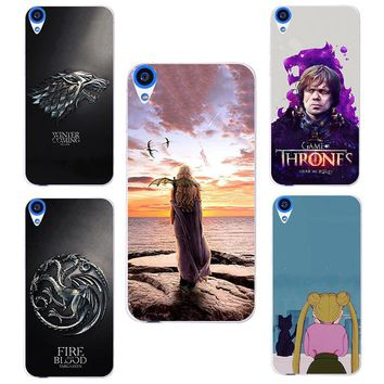 For HTC Desire 820 case Game of Thrones hard PC Phone cover Fundas Case For HTC Desire 820 Case HTC 820 Cover D820 D820U D820T