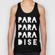 PARADISE Unisex Tank Top by Leah Flores | Society6
