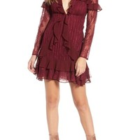 For Love & Lemons Daphne Lace Minidress | Nordstrom