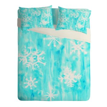 Rosie Brown Snowing Sheet Set Lightweight