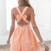 Blessed Angel Dress (Apricot)
