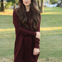 The Alexis Sweater Dress