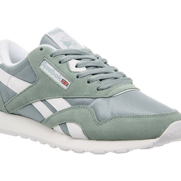 Reebok Cl Nylon Winter Sage White - Unisex Sports