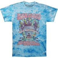 Pink Floyd Men's  40th Anniversary Photo Tie Dye T-shirt Multi