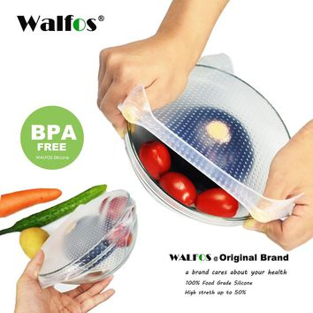 THE REVOLUTIONATY SILICONE FOOD WRAP