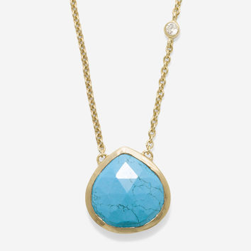 Marine Life Semi-Precious Frontal Necklace