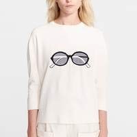 Women's Band of Outsiders Sunglasses Graphic Sweater