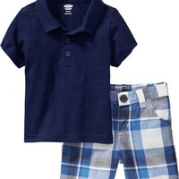 Old Navy Polo & Shorts Sets For Baby