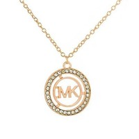 MK Michael Kors Trending Women Stylish Diamond Letter Necklace I-QSSP-DP