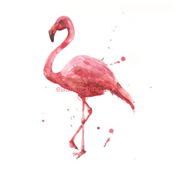 FLAMINGO Painting, flamingo print