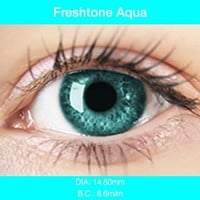 Aqua Color Contacts