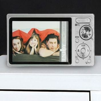 Glass Photo Camera Photo Frame