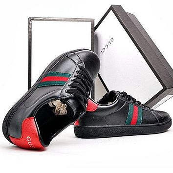 GUCCI fashion tide brand men and women casual shoes F