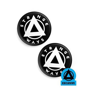 Strange Ways Pinback Button (Set of 2)