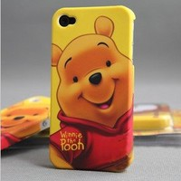 iPhone 4G Winnie The Pooh Bear Hard Case/Cover/Protector