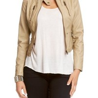 2B Seamed Exposed Zip Jacket 2b Jackets Taup-m