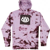 686 MEN'S TIE-DYE KNOCKOUT PULLOVER HOODY