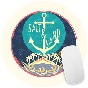 Beach Sand Salt Mouse Pad Decal