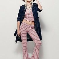 Free People Womens Rudy Stripe Lounge Set