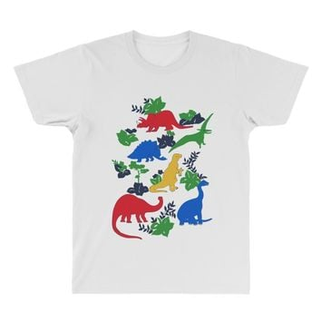 dinosaurs All Over Men's T-shirt