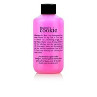 frosted cookie | pink frosted sugar cookie shampoo, shower gel & bubble bath | philosophy summer sale