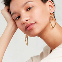 Luv Aj Heart Hoop Earring Set - Urban Outfitters
