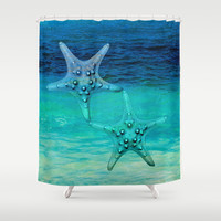 STARS OF THE SEA Shower Curtain by Catspaws