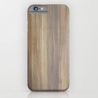 Wood iPhone & iPod Case by Words N Quotes