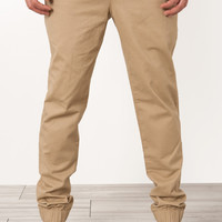 The Twenty Chino Joggers Khaki