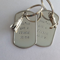 Best Friend Keychains - You've Got a Friend In Me keychain