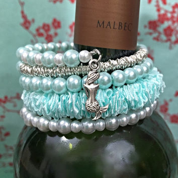 Whimsical Mermaid Bracelet