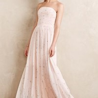 Sakura Blossoms Gown by Erin Fetherston Neutral Motif