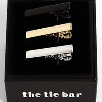 Men's The Tie Bar Brass Tie Bar - Silver/