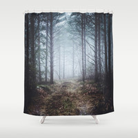 No more roads Shower Curtain by happymelvin