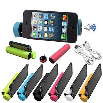 3-in-1 PowerTube 4000mAh Portable Speaker Power Bank