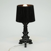 Baxton Studio Aristocrat Black Acrylic Modern Table Lamp | Interior Express