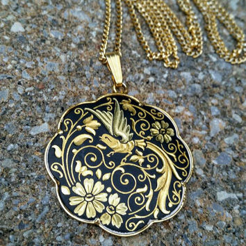 Vintage bird pendant necklace images vintage bird pendant necklace images shop vintage cloisonne pendants on wanelo jpg aloadofball Images