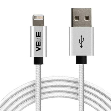 MFI Certified Lightning Cable USB Charger For Apple iPhone 7 6 8 X 5 3ft White