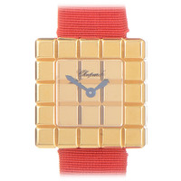Chopard Lady's Yellow Gold Ice Cube Five-Row Wristwatch