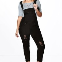 Plus Hollie Denim Dungaree