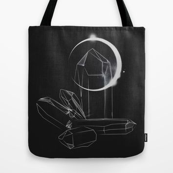 Crystalline Tote Bag by Ducky B