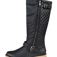 Tall Quilted Boots | 2020AVE