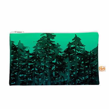 "Ebi Emporium ""Forest Through The Trees 9"" Purple Black Everything Bag"