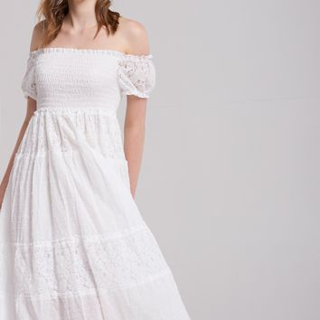 Avril Shirred Summer Dress Discover the latest fashion trends online at storets.com